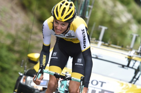 05-06-2016 Criterium Du Dauphine Libere; Tappa Prologo Les Gets; 2016, Lotto Nl - Jumbo; Bennett, George; Les Gets;