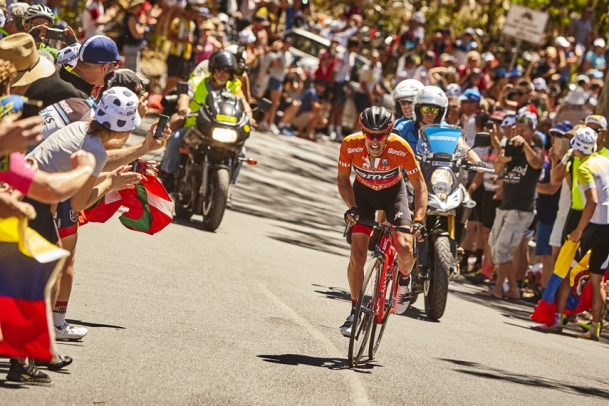 Richie Porte - Willunga Hill 2017