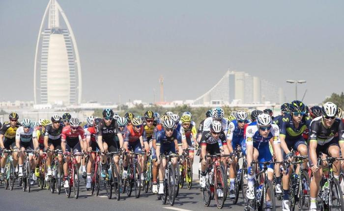 Dubai Tour 2018 Stage 1 Preview; Skydive Dubai › PalmJumeirah