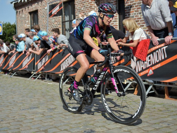 Canyon-Aeroad-CF-SLX_Canyon-SRAM-womens-cycling-team_french-champ-Pauline-Ferrand-Prevot_Kwaremont_photo-by-Velofocus